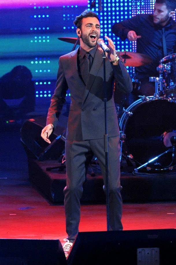 Marco Mengoni - Wind Music Awards - Roma - Olycom - Low Res